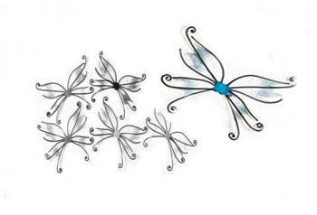 Schmetterlingsflügel blau