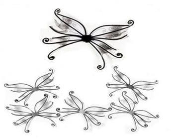 Pixie Wings Black