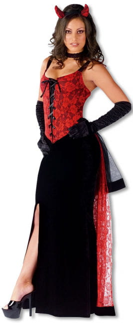 Gothic Rose Devil Costume ML