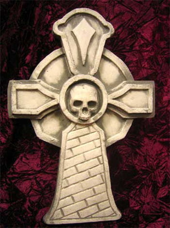 Grave stone Gothic Cross