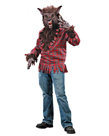 Werewolf Costume Brown