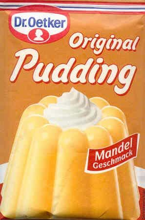 Almond Pudding