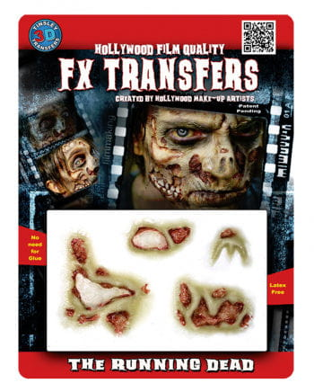 3D Tattoo Verwesender Zombie