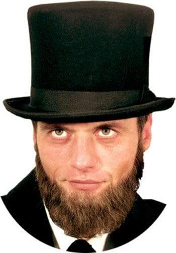 Echthaarbart Lincoln Braun