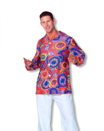 70er Hippie Shirt Psychedelic Plus Size