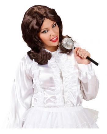 70s pop star Damenperücke brown