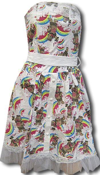 Horror Teddy Dress Size. SM