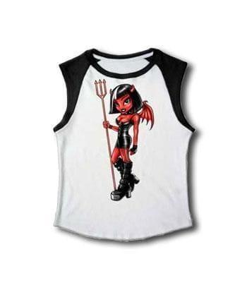 Teufel T Shirt ärmellos Gr. S