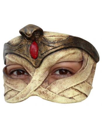 Ägyptische Königin Latex Halbmaske