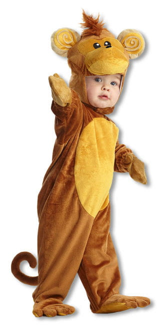 Monkey Child Costume XL