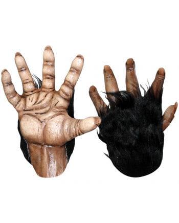 Monkey hands brown Deluxe