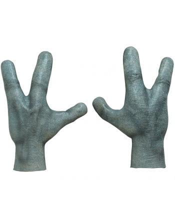 Alien Hände aus Latex