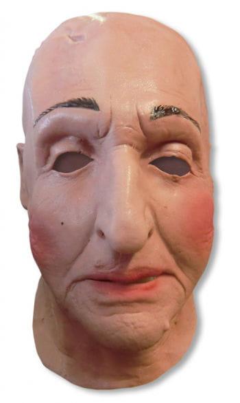 Alte Lady Schaumlatex Maske