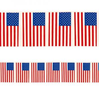 American Flag Garland