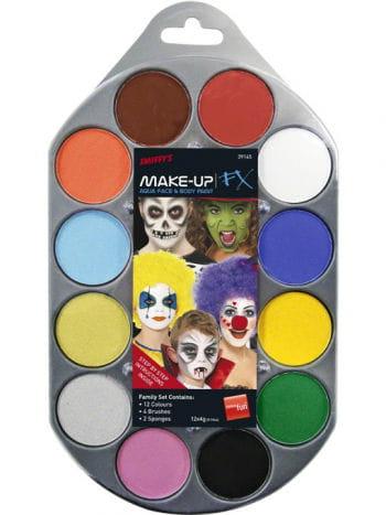 Aqua Makeup FX Palette
