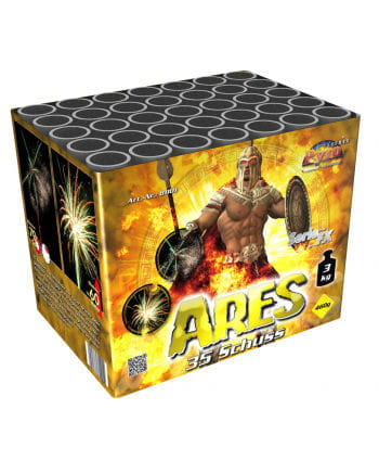 Ares battery fireworks 35 rounds