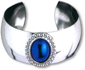 Bracelet Silver with Blue Gemstone