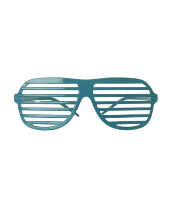 Etching glasses neon blue