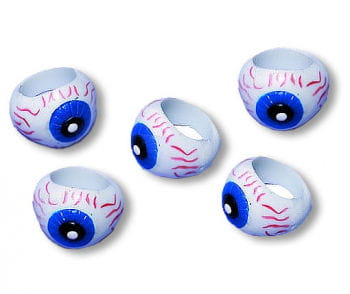 Eyeball Rings 12 PCS