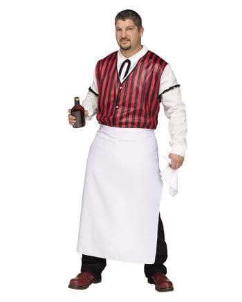 Saloon Barkeeper Kostüm Plus Size