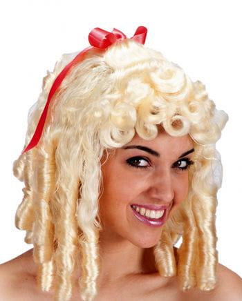 Barock Perücke Josephine blond
