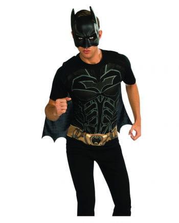 Batman shirt mask
