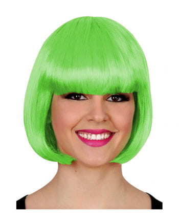 Bob Wig neon green