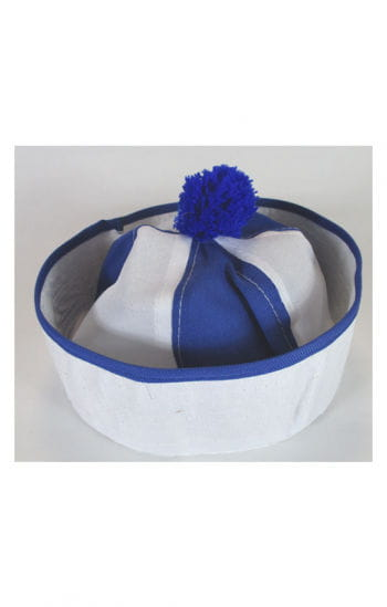 Bobby Sailor Hat White / Blue