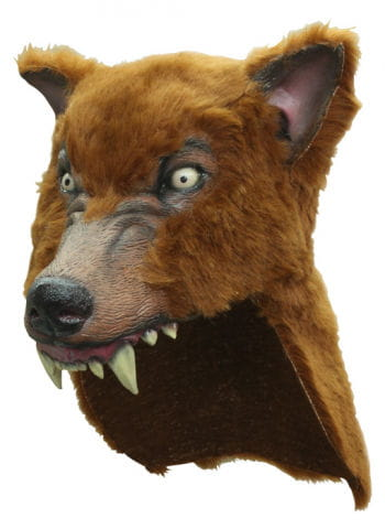 Brown Wolf Headpiece