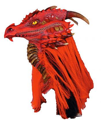 Brimstone dragon mask red