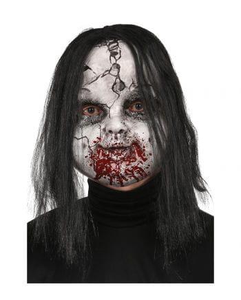 Broken Zombie Doll Maske