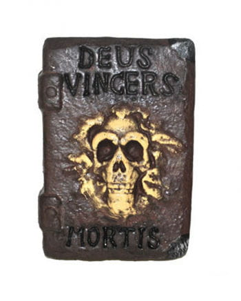 Book of the Dead with Skull motif