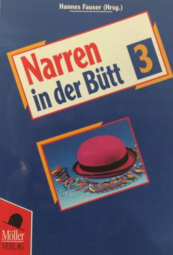 Buch Narren in der Bütt Band 3