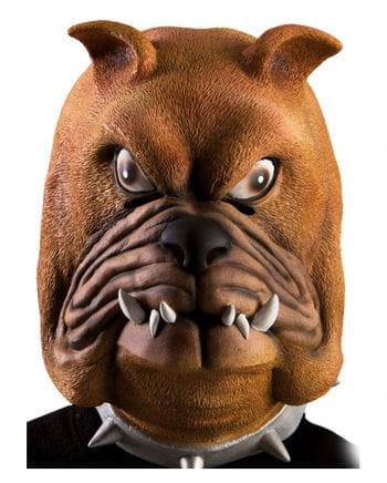 Bulldogge Latex-Maske