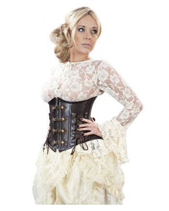 Gothic Lace Top beige