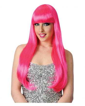 Candy Girl wig neon pink