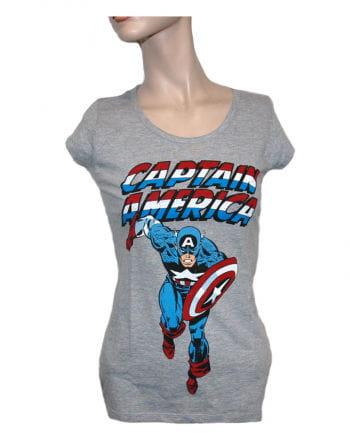 Captain America Women`s T-Shirt