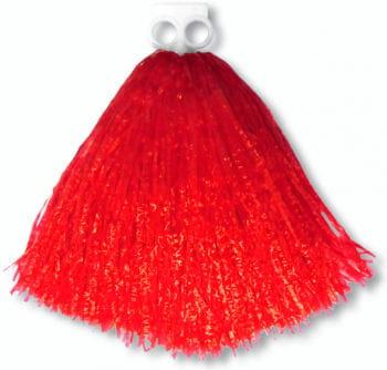 Cheerleader Pompon Rot