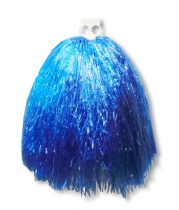 Cheerleader Pompon blau