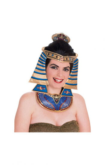 Cleopatra head and neck jewelery