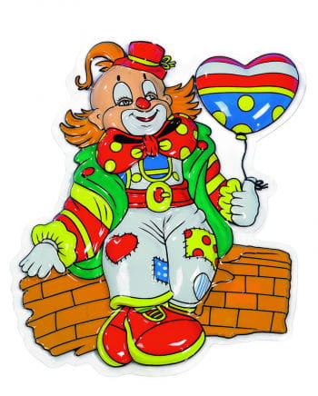 Clown Karli Wanddeko