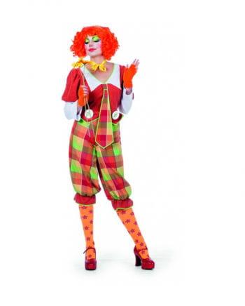 Clown Damenkostüm