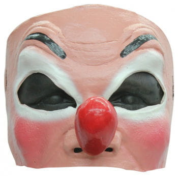 Clown Halbmaske