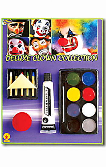 Clown Make Up Set Deluxe