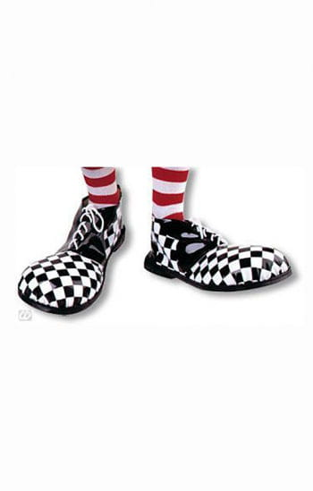 Clown Shoes checkered black and white