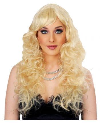 Women Long Hair Wig Light Brown