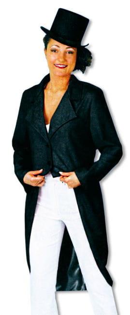 Ladies Tailcoat Black
