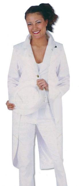 Ladies Tailcoat White M / 38