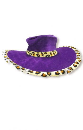 Ladies hat purple