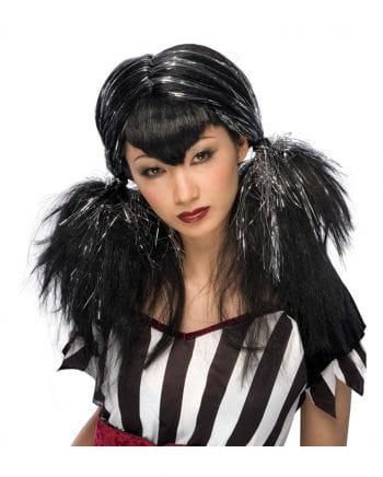 Dark Angel Wig black / silver